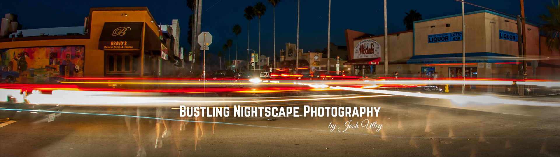 Bustling Nightscape Photography by Josh Utley